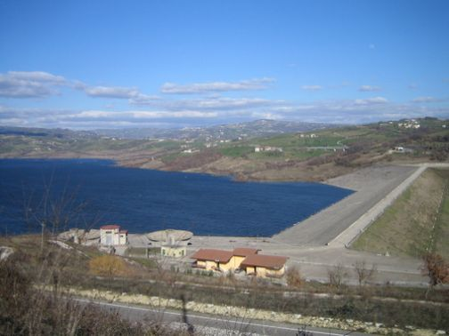 Provincia, lavori di sistemazione sul versante della diga di Campolattaro