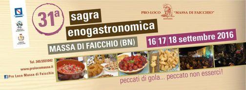 Massa di Faicchio, 31a Sagra Enogastronomica: 16-18 Settembre