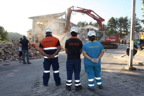 Terremoto in Centro Italia: grande l'impegno delle Misericordie campane