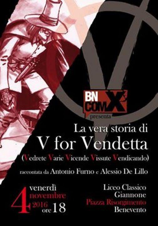BN.ComiX presenta 'La Vera storia di V per Vendetta'