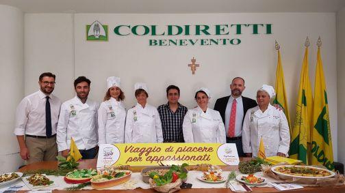 Coldiretti, Agriturimo: 'ecco i primi 5 agrichef di Benevento