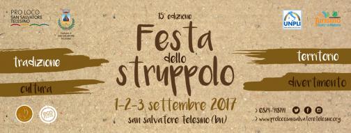 A San Salvatore 15 edizione della Festa dello struppolo