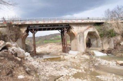 Riaperto il ponte sul torrente Malepara sulla strada provinciale Casalduni-Campolattaro