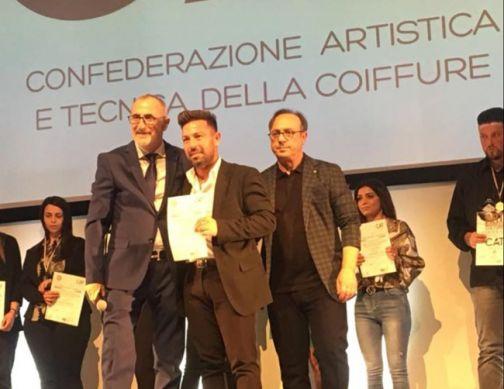 Il Sannio protagonista dell' «Italian Hair Contest» con Daniele Foschini