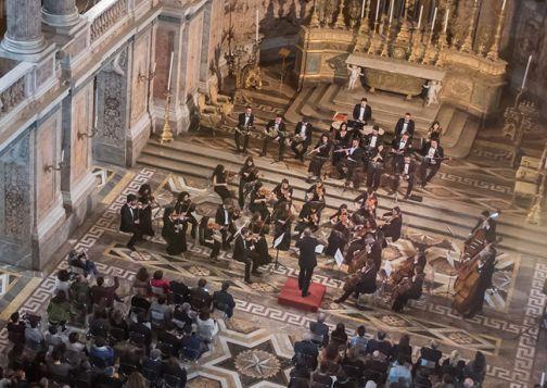 Orchestra Filarmonica di Benevento, successo alla Reggia di Caserta