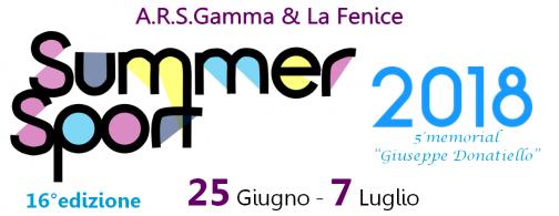Summer Sport 2018, a giugno al via la sedicesima edizione