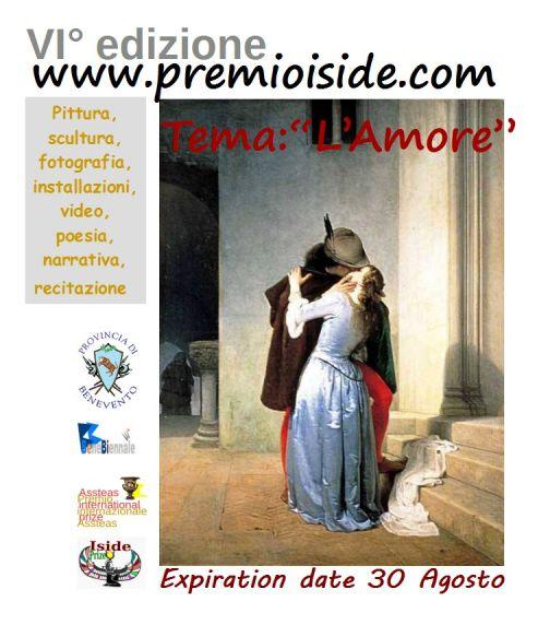Premio Internazionale Iside, pubblicato il bando della  VI° edizione