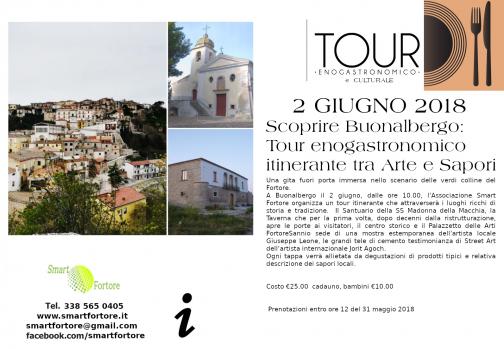 A Buonalbergo tour enogastronomico itinerante tra Arte e Sapori