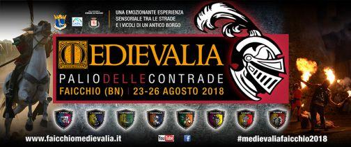 A Faicchio ritorna 'Medievalia': dal 23 al 26 agosto