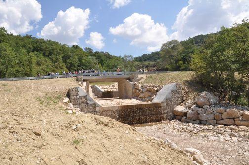 Inaugurato ponte su strada comunale Molinara- San Giorgio la Molara