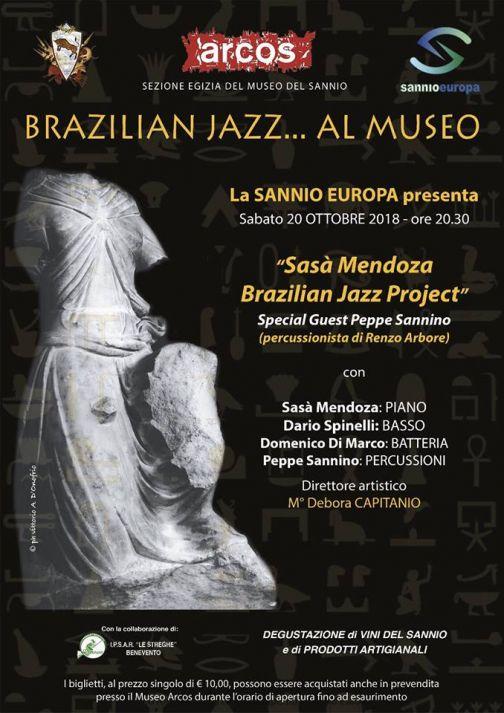 Ad Arcos 'Brazilian Jazz al Museo'