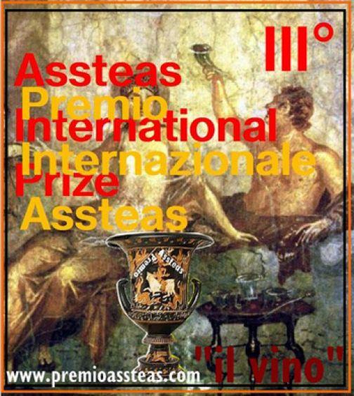 """Aperte le iscrizioni alla terza edizione del Premio Internazionale """"Assteas"""", il tema è il vino."""