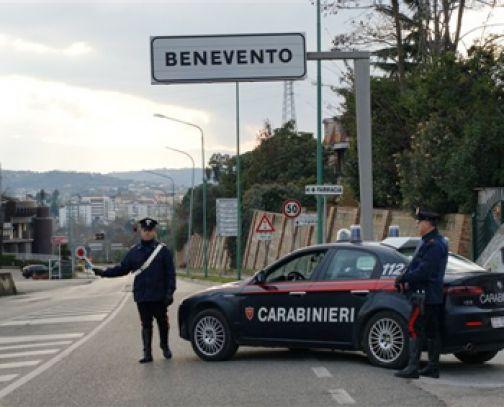 Sannio, controllo a tappeto dei Carabinieri su tutto il territorio