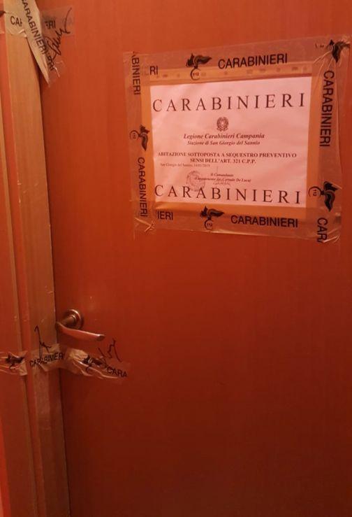 San Giorgio del Sannio, sequestrato un appartamento a luci rosse