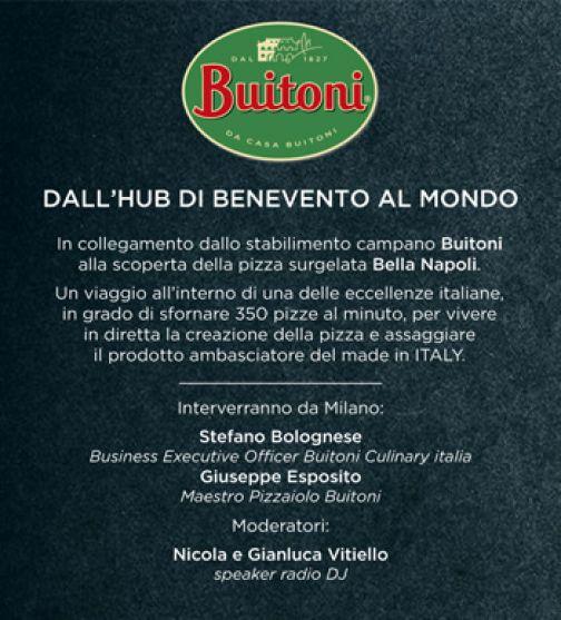 Buitoni, Benevento dev'essere l'hub internazionale della pizza surgelata