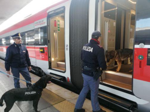 Rail Action Day , la Polfer intensifica controlli nelle stazioni ferroviarie