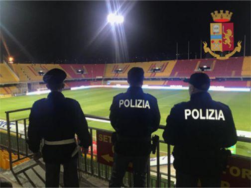 Benevento – Brescia, DASPO della Questura a tifoso giallorosso