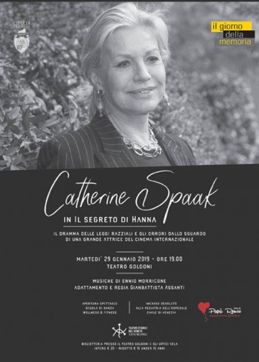 Il segreto di Hanna e  Catherine Spaak, da Benevento a Venezia