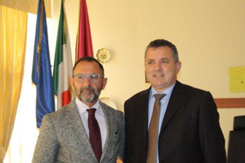 Il Presidente della Provincia incontra il Questore di Benevento