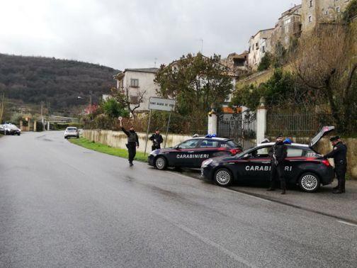 Controlli, territorio passato al setaccio dai Carabinieri della Compagnia di Montesarchio