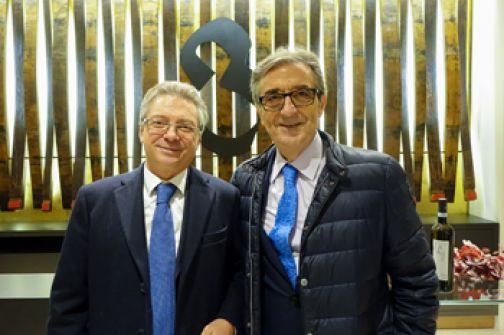 Laurea ad Honorem a Riccardo Cotarella, entusiasmo alla Guardiense