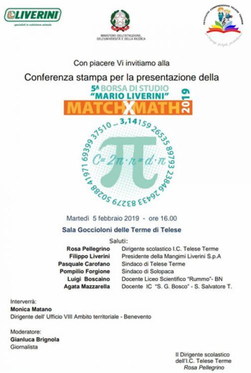 """Telese Terme, domani la presentazione della Borsa di Studio""""Mario Liverini"""""""