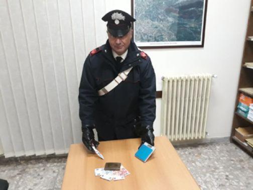 Frasso Telesino, arresto per droga dei Carabinieri