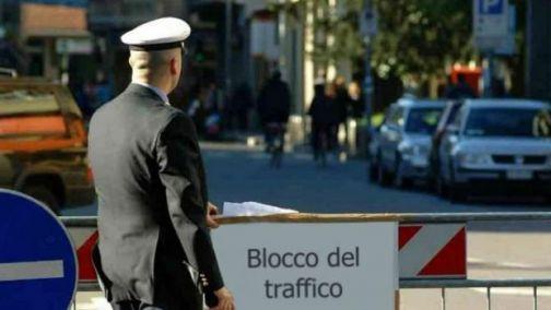 Benevento, domenica 17 febbraio nuovo stop alla circolazione dei veicoli a motore