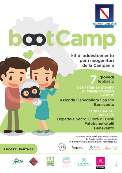 Kit per neo mamme, il 7 febbraio Boot Camp a Benevento