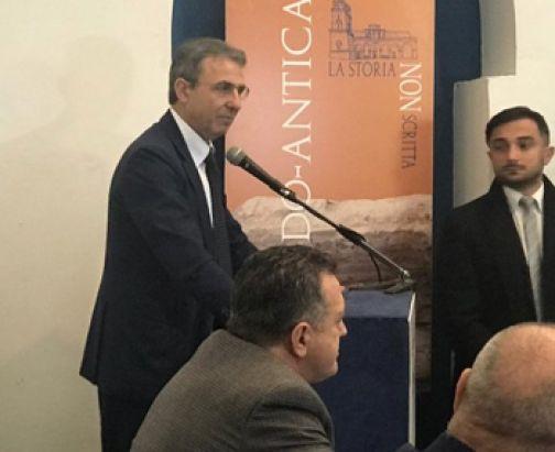 """Di Maria ringrazia il ministro Costa: """"Una visita di alto profilo istituzionale"""""""