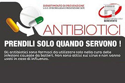 Asl Benevento, parte campagna informativa per corretto uso antibiotici