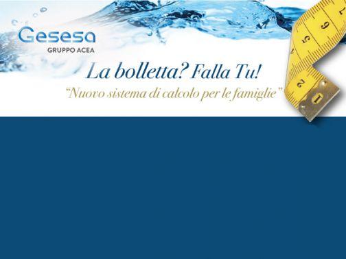 """Gesesa presenta """"La Bolletta? Falla tu!"""", nuovo sistema di calcolo per le famiglie"""