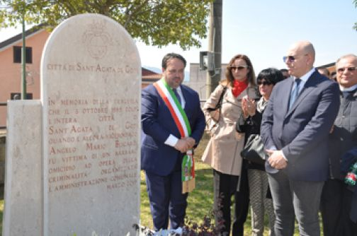 Vittime della mafia, cerimonia in ricordo di Angelo Mario Biscardi