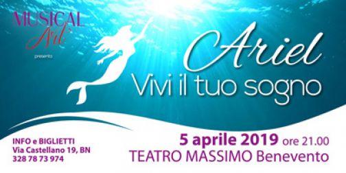 'Ariel, Vivi il tuo sogno': cresce l'attesa per lo spettacolo