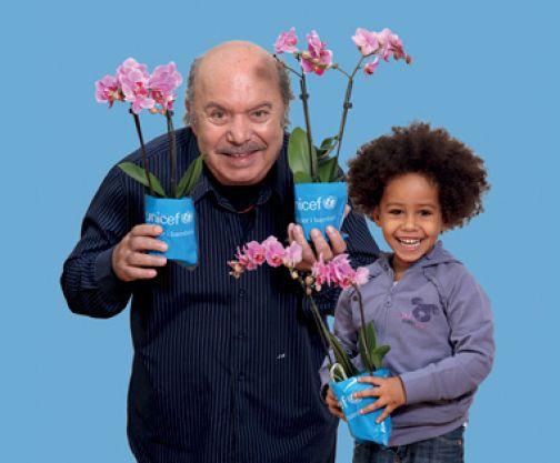Unicef, il 30 e 31 marzo torna l'Orchidea in 43 piazze del Sannio