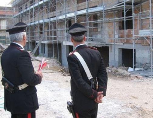 Lavoro sui cantieri edili, controlli dei Carabinieri