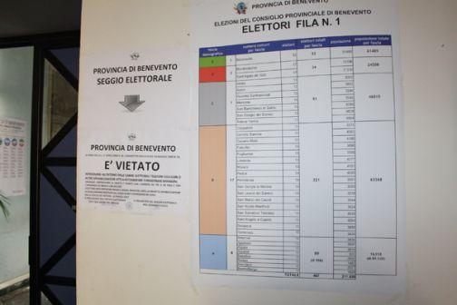 Insediato il seggio, tutto pronto alla Rocca per le Elezioni del Consiglio provinciale