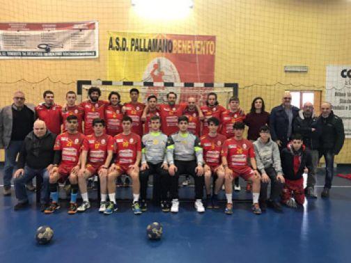 ASD Pallamano Benevento, stop a Putignano