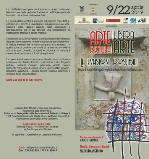 Asl, le opere dei pazienti del Cdr in mostra al Maschio Angioino
