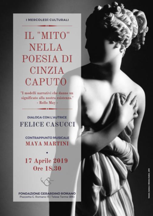 """Telese e """"Il mito nella Poesia di Cinzia Caputo"""""""
