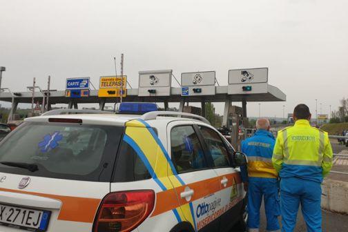 Esodo di Pasquetta, la Misericordia di Benevento attivata da Società Autostrade