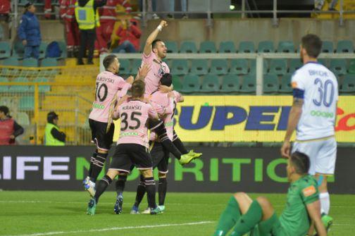 Posticipo, Palermo-Verona 1-0: siciliani ad 1 punto dalla seconda piazza. La classifica aggiornata.
