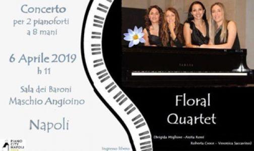 Concerto del Floral Quartet a Piano city 2019