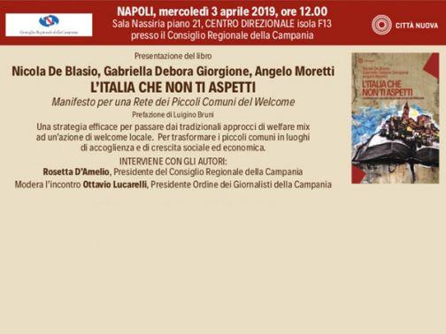 Welfare e Caritas Benevento al Consiglio Regionale con la Presidente Rosetta D'Amelio
