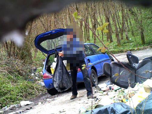 Valle Caudina, abbandono illecito di rifiuti: sanzioni per oltre 16mila euro