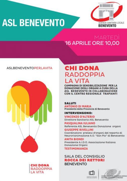 Asl, alla Rocca evento conclusivo per la donazione d'organi