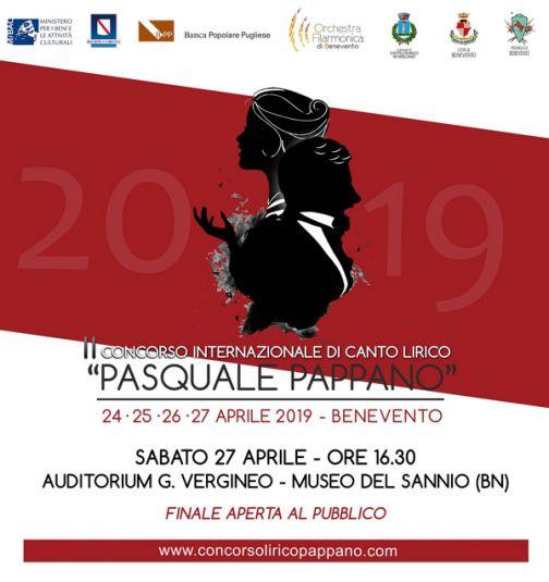 """Domani la finale del Concorso """"Pasquale Pappano"""""""