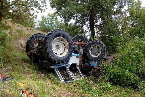 Cerreto Sannita, schiacciato dal trattore: soccorso dai Carabinieri