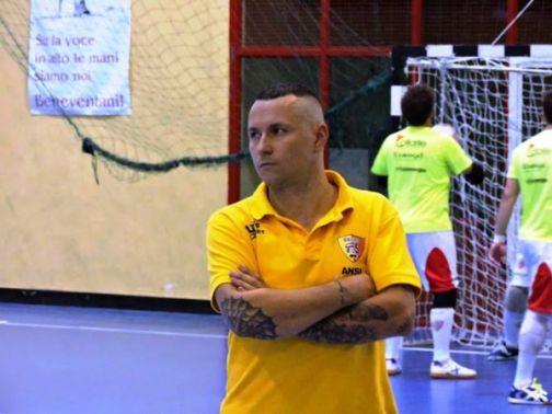 Calcio a 5, Cosimo Sorice confermato alla guida del Benevento 5