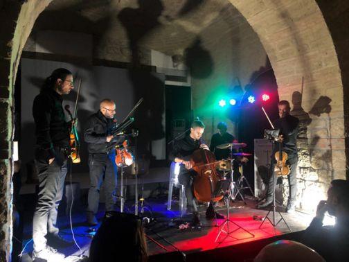 Museo Arcos, Ondaneuve string quartet: applausi a scena aperta